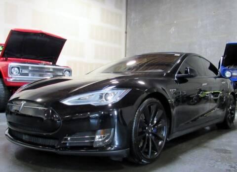 2015 Tesla Model S for sale at Platinum Motors in Portland OR