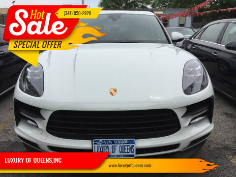 2019 Porsche Macan for sale at LUXURY OF QUEENS,INC in Long Island City NY
