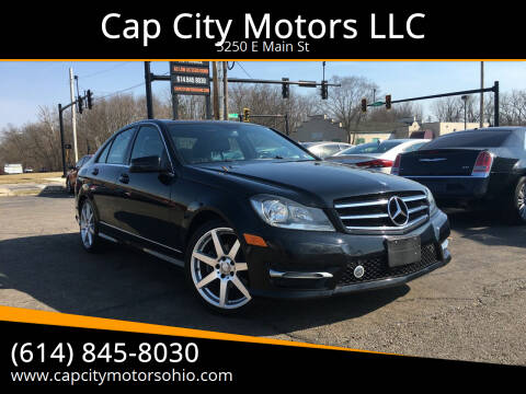 2014 Mercedes-Benz C-Class for sale at Cap City Motors LLC in Columbus OH