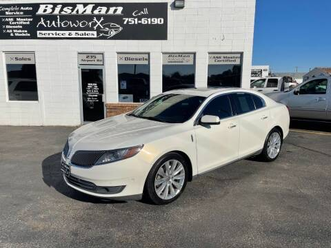 2013 Lincoln MKS for sale at BISMAN AUTOWORX INC in Bismarck ND