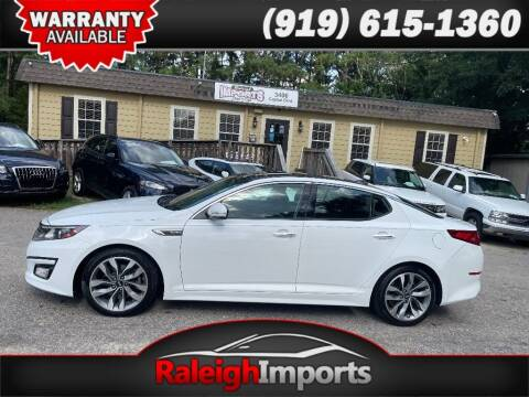 2014 Kia Optima for sale at Raleigh Imports in Raleigh NC