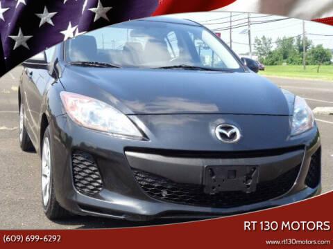 2013 Mazda MAZDA3 for sale at RT 130 Motors in Burlington NJ