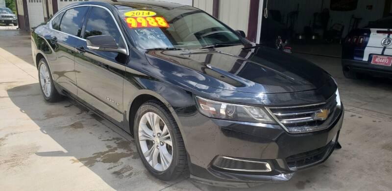 2014 Chevrolet Impala for sale at COOPER AUTO SALES in Oneida TN