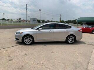 2014 Ford Fusion for sale at J & S Auto in Downs KS