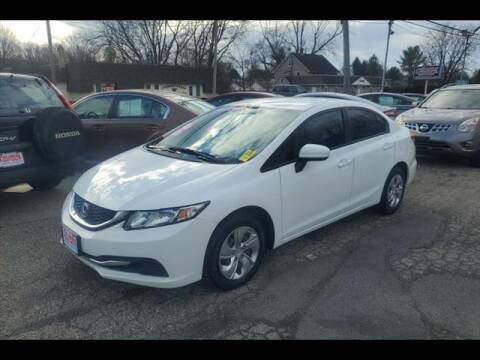 2015 Honda Civic for sale at Colonial Motors in Mine Hill NJ