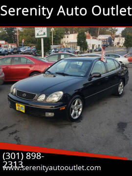 1998 Lexus GS 400 for sale at SERENITY AUTO OUTLET in Frederick MD