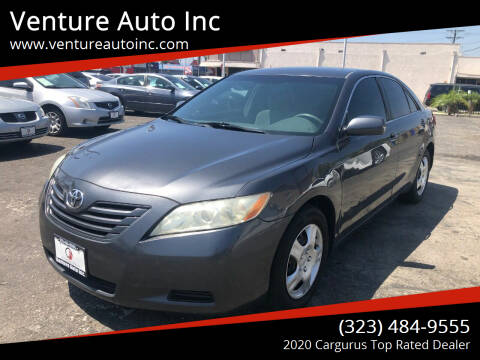 2009 Toyota Camry for sale at Venture Auto Inc in South Gate CA