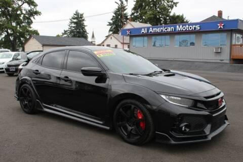 2018 Honda Civic for sale at All American Motors in Tacoma WA