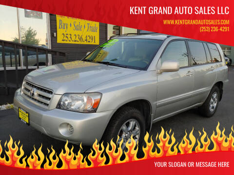 2006 Toyota Highlander for sale at KENT GRAND AUTO SALES LLC in Kent WA