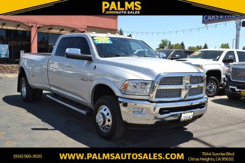 2015 RAM Ram Pickup 3500 for sale at Palms Auto Sales in Citrus Heights CA