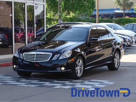 2011 Mercedes-Benz E-Class for sale at DriveTown in Houston TX