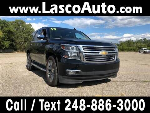 2015 Chevrolet Tahoe for sale at Lasco of Waterford in Waterford MI