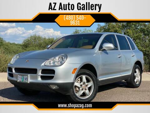 2003 Porsche Cayenne for sale at AZ Auto Gallery in Mesa AZ