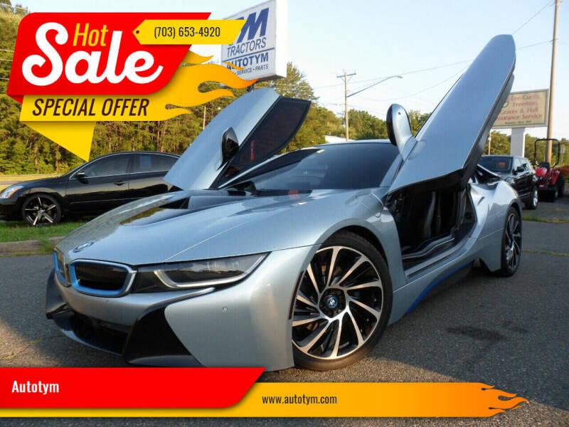 2015 BMW i8 for sale at AUTOTYM INC in Fredericksburg VA