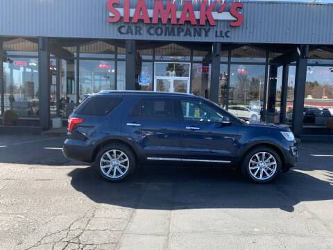 2017 Ford Explorer for sale at Siamak's Car Company llc in Salem OR