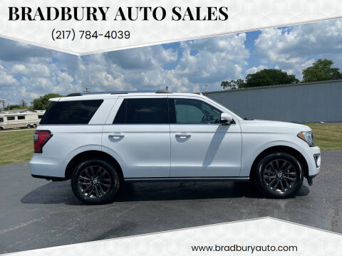 2019 Ford Expedition for sale at BRADBURY AUTO SALES in Gibson City IL