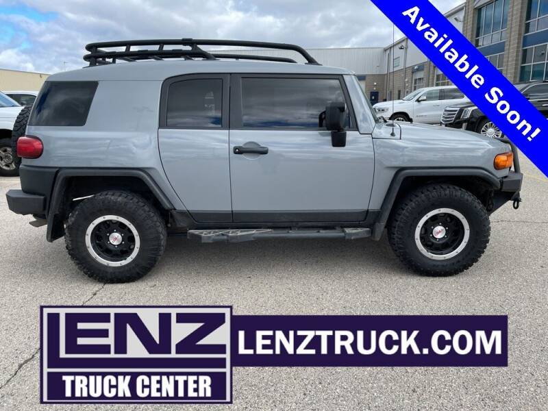 2013 Toyota FJ Cruiser for sale at LENZ TRUCK CENTER in Fond Du Lac WI