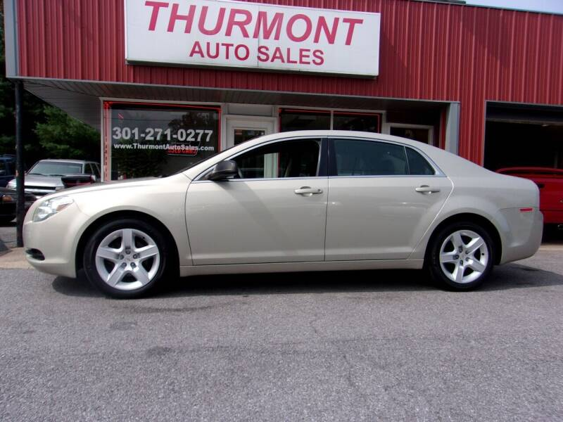 2012 Chevrolet Malibu for sale at THURMONT AUTO SALES in Thurmont MD