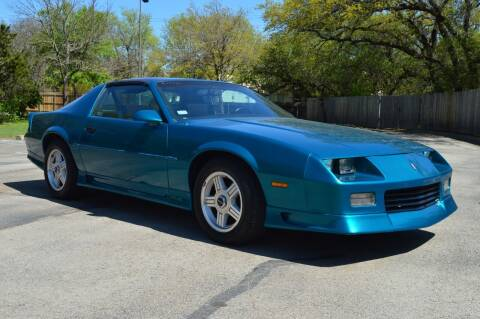 1991 Chevrolet Camaro for sale at Coleman Auto Group in Austin TX