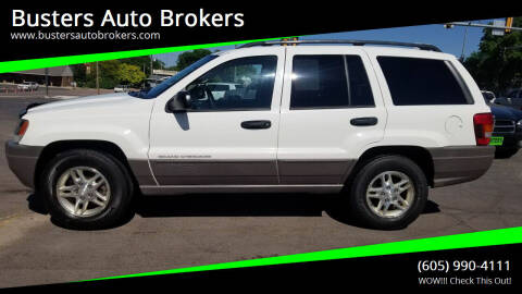 2004 Jeep Grand Cherokee for sale at Busters Auto Brokers in Mitchell SD