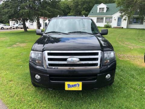 2008 Ford Expedition EL for sale at Blakes Auto Sales in Rice Lake WI