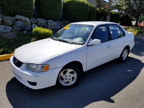 2001 Toyota Corolla for sale at SS MOTORS LLC in Edmonds WA