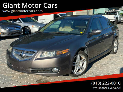 2008 Acura TL for sale at Giant Motor Cars in Tampa FL