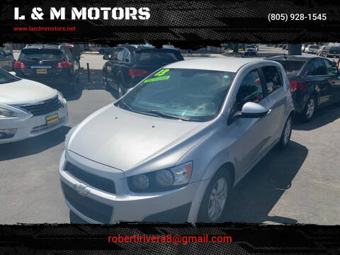 2013 Chevrolet Sonic for sale at L & M MOTORS in Santa Maria CA