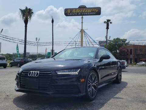 2016 Audi A7 for sale at A MOTORS SALES AND FINANCE - 10110 West Loop 1604 N in San Antonio TX