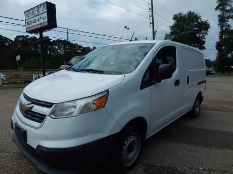 2015 Chevrolet City Express Cargo for sale at Medford Motors Inc. in Magnolia TX