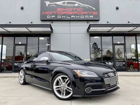 2013 Audi TTS for sale at Exotic Motorsports of Oklahoma in Edmond OK