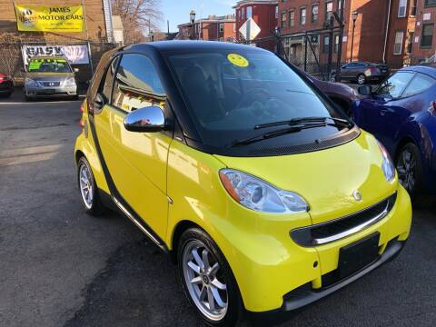 2008 Smart fortwo for sale at James Motor Cars in Hartford CT