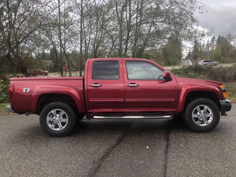 2010 Chevrolet Colorado for sale at Grandview Motors Inc. in Gig Harbor WA
