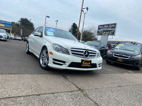 2012 Mercedes-Benz C-Class for sale at Save Auto Sales in Sacramento CA