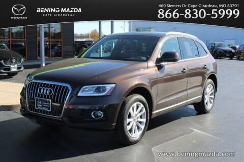 2013 Audi Q5 for sale at Bening Mazda in Cape Girardeau MO