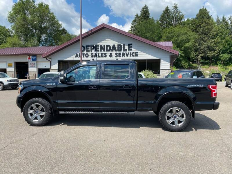 2018 Ford F-150 for sale at Dependable Auto Sales and Service in Binghamton NY