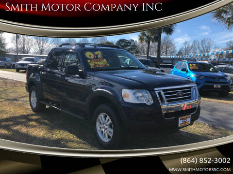 2007 Ford Explorer Sport Trac for sale at Smith Motor Company INC in Mc Cormick SC