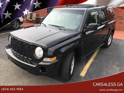 2008 Jeep Patriot for sale at Cars4Less GA in Alpharetta GA