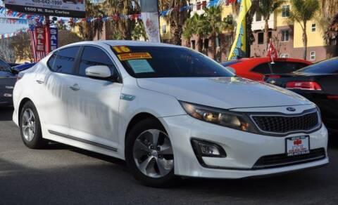 2016 Kia Optima Hybrid for sale at AMC Auto Sales, Inc in San Jose CA