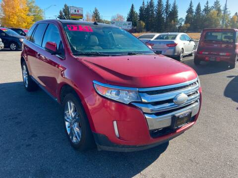 2012 Ford Edge for sale at BELOW BOOK AUTO SALES in Idaho Falls ID
