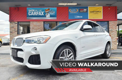 2017 BMW X4 for sale at ALWAYSSOLD123 INC in North Miami Beach FL