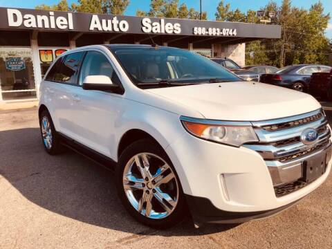 2012 Ford Edge for sale at Daniel Auto Sales inc in Clinton Township MI