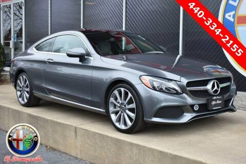 2018 Mercedes-Benz C-Class for sale at Alfa Romeo & Fiat of Strongsville in Strongsville OH