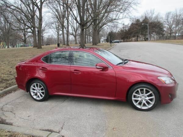 2012 Lexus IS 250 for sale at RENNSPORT Kansas City in Kansas City MO