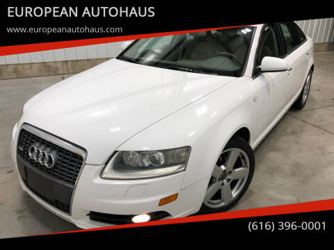 2008 Audi A6 for sale at EUROPEAN AUTOHAUS in Holland MI