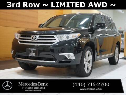 2013 Toyota Highlander for sale at Mercedes-Benz of North Olmsted in North Olmstead OH