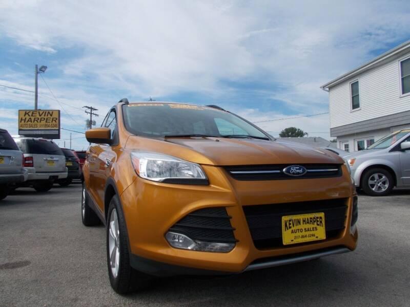 2016 Ford Escape for sale at Kevin Harper Auto Sales in Mount Zion IL