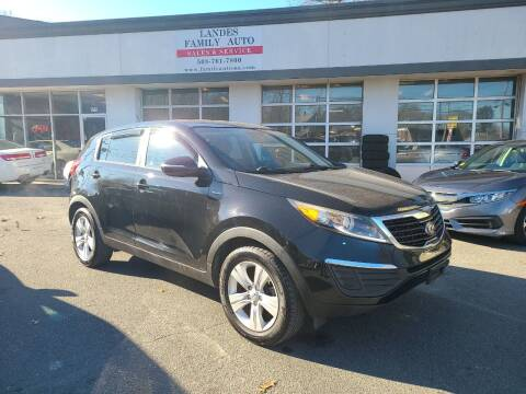 2013 Kia Sportage for sale at Landes Family Auto Sales in Attleboro MA
