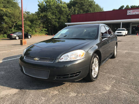 2015 Chevrolet Impala Limited for sale at Certified Motors LLC in Mableton GA