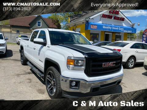 2015 GMC Sierra 1500 for sale at C & M Auto Sales in Detroit MI